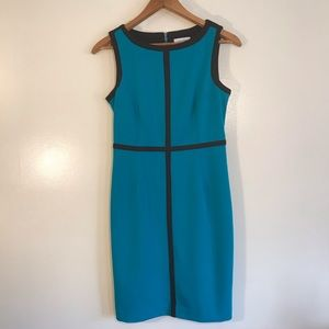 50% Off Sale 🎉 Calvin Klein Green and Black Dress